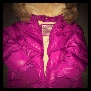 Girls Justice puffer coat